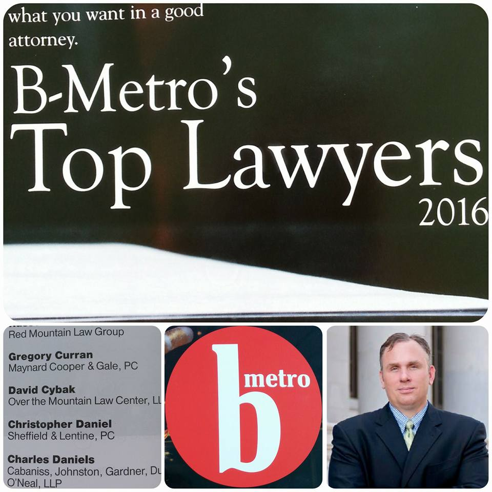 Dave Cybak appeared in B-Metro's Top Lawyers